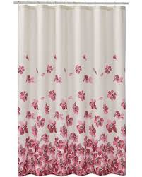 Home Classics Shower Curtain Find The Best Deals On Home Classics皰 Falling Floral Fabric Shower