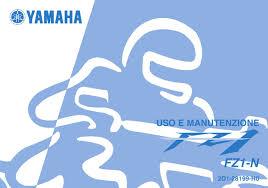 manuale yamaha fz1 by marco bianco issuu