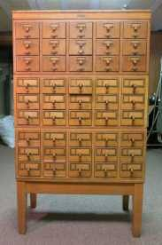 library file media cabinet library card file cabinet my twelve drawer catalogue pales in