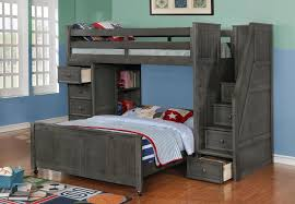 Twin Loft Bed With Stairs Bunk Beds Twin Loft Bed With Stairs Low Loft Bed With Desk
