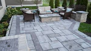 How To Paver Patio Landscaping Adds Privacy To Custom Paver Patio Landscaping