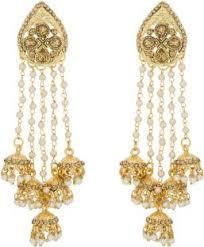 jhumki earring flipkart buy luxor fasionable alloy tassel earring jhumki