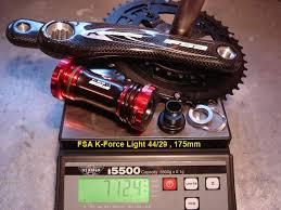 Fsa K Force Light Fsa K Force Light 2x9 712g Mtbr Com