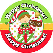 christmas stickers personalised christmas labels christmas party stickers