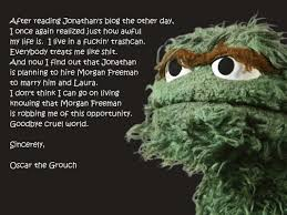 Oscar The Grouch Meme - all categories jonathan pierce