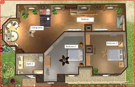 captivating 20 house blueprints sims 3 decorating design of best