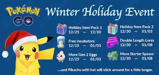 pokémon go winter event calendar hyperpoke