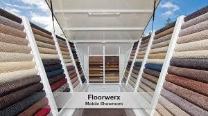 floorwerx mobile flooring showroom gold coast