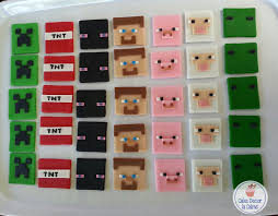 minecraft cupcakes cake decor in cairns minecraft fondant cupcake toppers