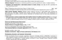 Senior Executive Resume Examples by Resume Sample Senior Executive Qualifications Summary