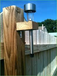Outdoor Solar Lights For Fence Outdoor Solar Lights For Fence Therav Info