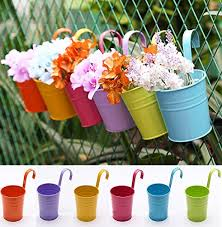 Hanging Plants For Patio Use Small Indoor Outdoor Metal Iron Hanging Planters Garden Patio