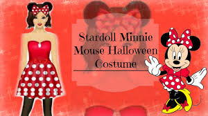 Minnie Mouse Halloween Makeup by Stardoll Halloween Minnie Mouse Costume Makeup Easy Stardesign