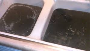 Sewage Backing Up In Our Kitchen YouTube - Kitchen sink backed up