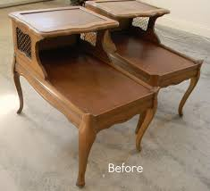 side table paint ideas painted end table ideas forever decorating oh so french tables