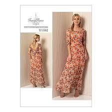 dress pattern john lewis vogue misses women s dress sewing pattern 1502 dress sewing