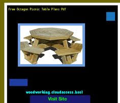 picnic table plans octagon 153415 woodworking plans and projects