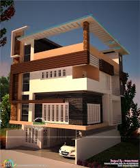 contemporary mix modern house kerala home design and floor plans