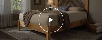 Build Wooden Bed Frame To Build A Wooden Bed Frame