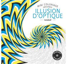 Mini Coloriage Antistress Marabout Illusion doptique  La Fourmi