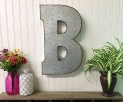 Metal Wall Letters Home Decor Best 25 Large Metal Letters Ideas On Pinterest Wagon Wheel