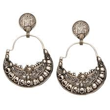 earrings for sale sterling silver moroccan earrings for sale at 1stdibs