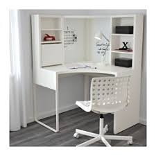 Corner White Desks Micke Corner Workstation White Ikea