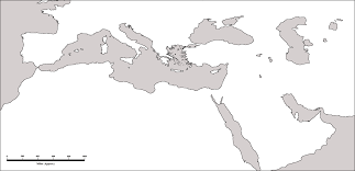outline map of the mediterranean 23281 aufe us