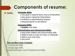 Resume Computer Skills Examples by Cv Language Skills Describing