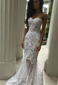 mermaid style wedding dress juliet ivory embroidered strapless mermaid style wedding dress