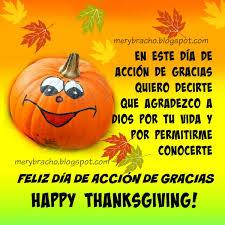 bonita imagen feliz día de acción de gracias happy thanksgiving