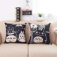 Sofa Decorative Pillows by Cute Totoro Sofa Throw Pillow Kooshen For Cushions Online