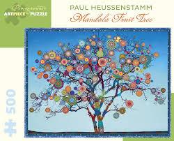 mandala fruit tree jigsaw puzzle puzzlewarehouse