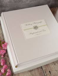 personalised photo albums large personalised ivory wedding photograph album creative bridal