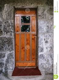 wood doors with glass inserts old wooden door with glass in ancient building stock photo image