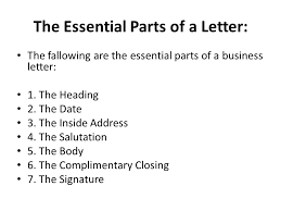 letters letter it is the written form of communication in which