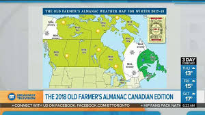 Instant Weather Map Weather Prediction For 2018 With The Old Farmer U0027s Almanac