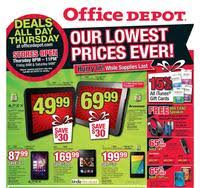 office depot and officemax black friday 2017