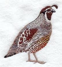 quail ornaments clay and salt dough crafts quails