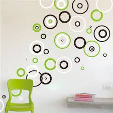 Trendy Rings Vinyl Wall Decals Trendy Wall Designs - Wall design decals