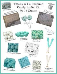 Tiffany Blue Candy Buffet 21 best tiffany candy table sweet sixteen images on pinterest