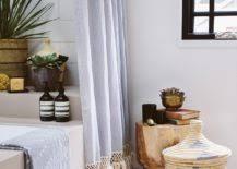 Diy Bathroom Curtains Budget Bathroom Makeover 10 Creative Diy Shower Curtains