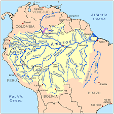 worlds rivers map the 10 rivers in peru