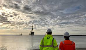 veolia peterson receive first offshore structure for
