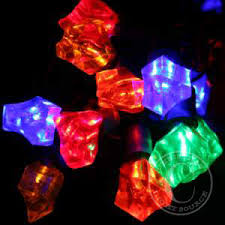 Cube Lights Multi Ice Cube Led Christmas Light Set