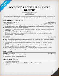 sample resumes for accounting accounts receivable resume designsid com