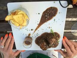 gulli cuisine filet mignon mit süßkartoffel chips picture of bistrot gulli
