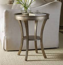 Living Room Accent Tables Hooker Furniture Living Room Sanctuary Round Mirrored Accent Table
