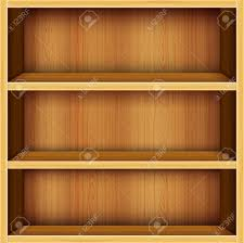 Wood Shelves Design by Vector Wooden Shelves Design Background Royalty Free Cliparts