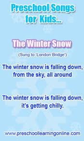 winter songs for preschoolers songs winter and preschool winter